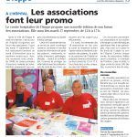 Article de presse - Forum des associations à l'hôpital 17/09/2019